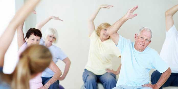 Exercícios físicos e boa alimentação