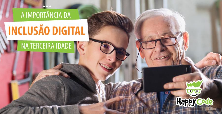 A importância da inclusão digital na terceira idade