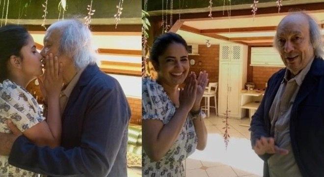 Após sete anos de beijinhos e carinhos sem ter fim e mais dois de maravilhosa convivência, me casei ontem no civil com minha adorada Fernanda