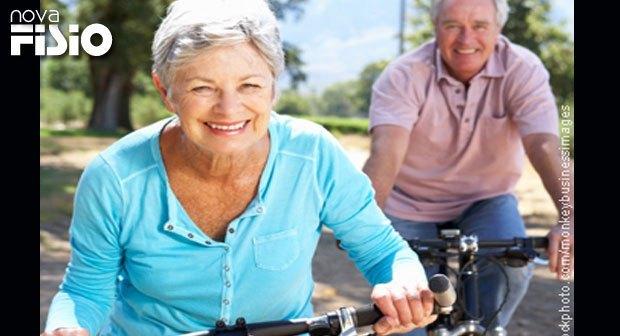Praticar exercícios físicos é a saída para o bom funcionamento do organismo e na terceira idade para prevenção de muitas doenças cardiovasculares.