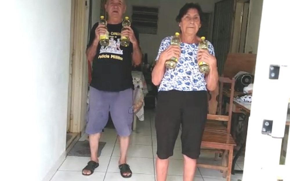 Exercícios caseiros para terceira idade
