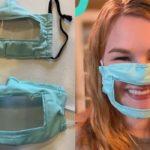 Jovem cria máscara para facilitar a comunicação de deficientes auditivos