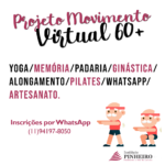 Projeto Movimento Virtual 60+